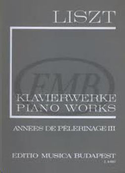 Picture of LISZT ANNEES PELERINAGE V3 EMB Piano