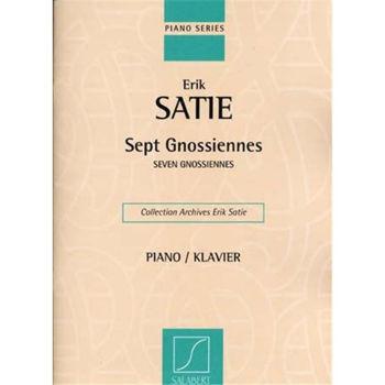 Picture of SATIE ERIK 7 GNOSSIENNES piano