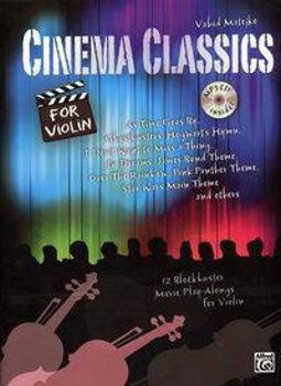 Image de CINEMA CLASSICS VIOLON +CDgratuit