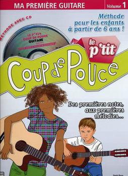 Picture of COUP DE POUCE Le P'tit Guitare Enfants +CD gratuit