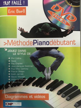 Image de TROP FACILE METHODE PIANO +DVDgratuit
