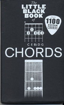 Picture of LITTLE BLACK BOOK CHORDS GUITARE