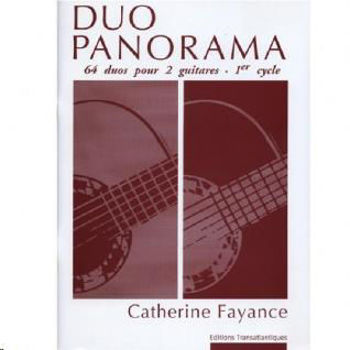Picture of FAYANCE DUO PANORAMA 64 DUOS 1ER CYCLE Guitare Classique