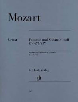 Picture of MOZART FANTAISIE SONATE K475/457 Piano
