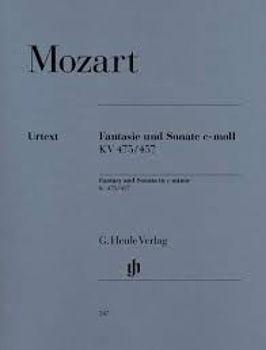 Picture of MOZART FANTAISIE SONATE K475/457 Piano