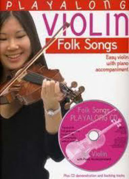 Picture of PLAY ALONG FOLKSONGS VIOLON +CDgratuit Violon
