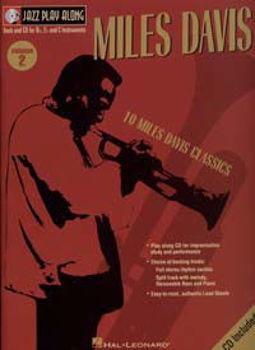 Image de Jazz Play Along V02 MILES DAVIS BK+CD