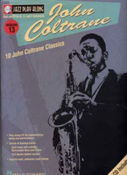 Image de Jazz Play Along V13 JOHN COLTRANE BK+CD