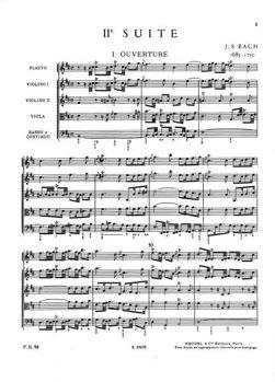 Picture of BACH JS Suite en si mineur n°2 orchestre poche