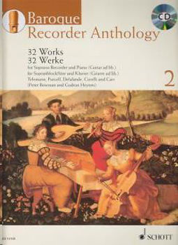 Picture of BAROQUE RECORDER ANTHOLOGY VOL2 +CDgratuit Flûte à Bec