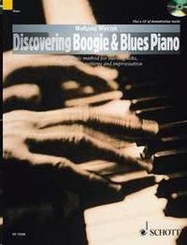 Image de DISCOVERING BOOGIE & BLUES PIANO +CDgratuit