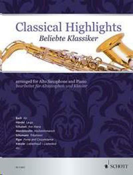 Picture of CLASSICAL HIGHLIGHTS Saxophone Alto et Piano