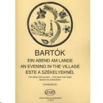 Image de BARTOK AN EVENING IN THE VILLAGE Clarinette et Piano
