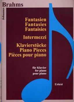 Image de BRAHMS FANT.INTERMEZZI KON190 Piano