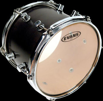 "Picture of EVANS PEAU 13"" Serie G14 Simple Pli Transparente"