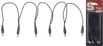Picture of Cable Alimentation DC 5 PEDALES EFFET (extrémité MALE)