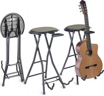 Picture of TABOURET GUITARE + STAND