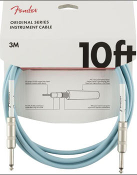 Image de Cable Instrument 03M JK / JK FENDER Original Daphne Blue