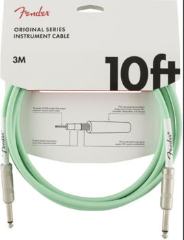 Image de Cable Instrument 03M JK / JK FENDER Original Surf Green