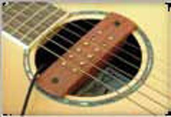 Picture of MICRO Guitare Acoustique Cordes Acier ROSACE Bois Bubinga
