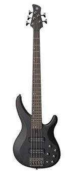 Picture of Guitare Basse 5 Cordes YAMAHA TRBX505TBL Noir translucide