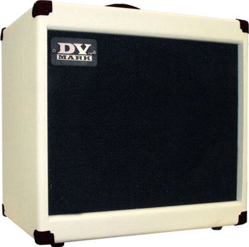 "Image de Enceinte Guitare Electrique DV MARK C112 SMALL Blanc 1x12"""