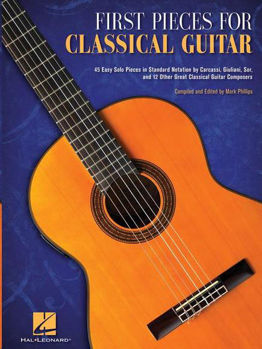 Image de FIRST PIECES FOR CLASSICAL GUITAR Guitare Classique
