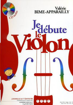 Picture of BIME APPARAILLY JE DEBUTE LE VIOLON +CDgratuit Violon