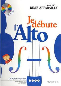 Image de BIME APPARAILLY JE DEBUTE L'ALTO +CDgratuit Violon alto