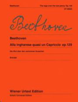 Picture of BEETHOVEN ALLA INGHARESE OP129 UT Piano
