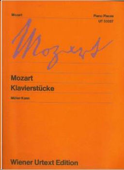 Picture of MOZART KLAVIERSTUCKE Piano