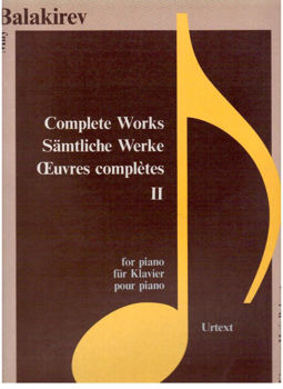 Picture of BALAKIREV COMPL WORKS VOL2 KON Piano