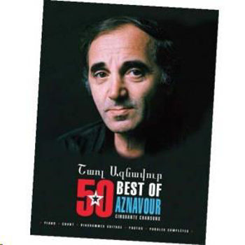 Picture of AZNAVOUR BEST OF 52 CHANSONS Piano Voix Guitare