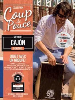 Image de Coup de Pouce CAJON DEBUTANT + CDgratuit