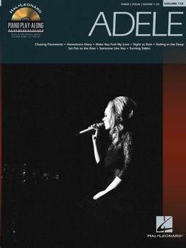 Image de PIANO PLAY ALONG ADELE VOL118 +CDgratuit