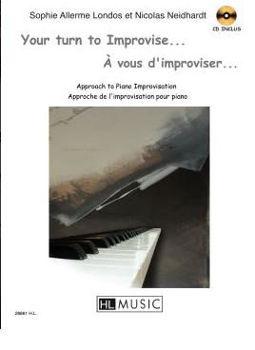 Picture of ALLERME A VOUS D'IMPROVISER PIANO +CDgratuit