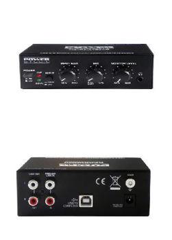Picture of INTERFACE AUDIO USB CONVERTISSEUR Signal Analogique en Numérique