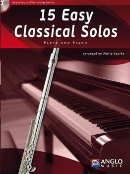 Picture of 15 EASY CLASSICAL SOLOS FLUTE ET PIANO+CDgratuit Flûte Traversière et Piano