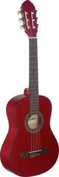 Image de Guitare Classique 1/2 Tilleul Rouge convient à l'enfant