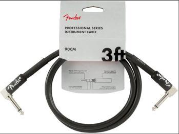 Picture of Cable Instrument 0.90M JK Coudé / JK Coudé FENDER Professional Black