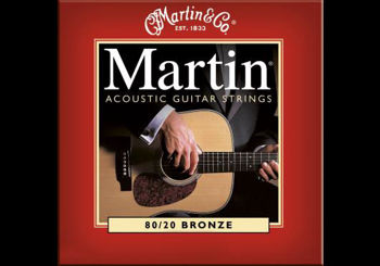 Image de CORDE Guitare Folk Bronze 032 MARTIN