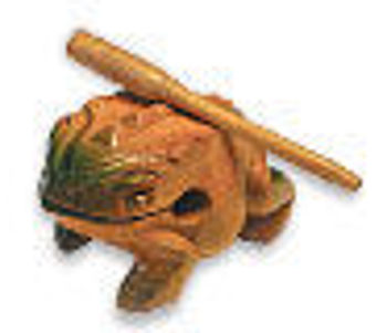 Picture of GUIRO GRENOUILLE 10CM