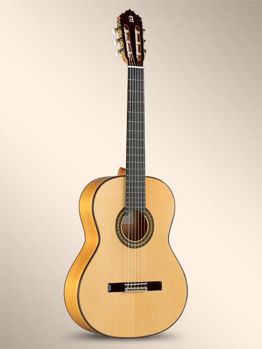 Picture of Guitare Flamenco ALHAMBRA 7Fc Table Epicea Massive / Corps Cypres