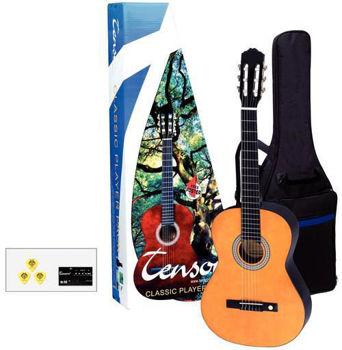 Image de Guitare Classique 3/4 PACK TENSON Teinté Miel