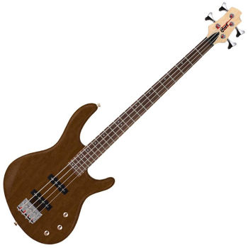 Image de Guitare Basse 4 Cordes CORT ACTION JJ Walnut Open Pore