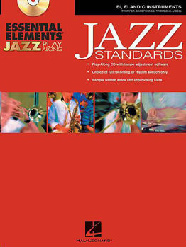 Picture of ESSENTIAL ELEMENTS JAZZ STANDARDS PLAY ALONG +CDgratuit Trompette / Saxo / Trombone