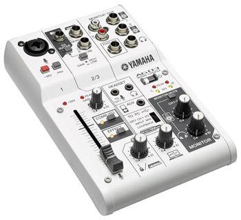 Image de Console Mixage Hybride YAMAHA USB 2.0 & 5V DC 3canaux