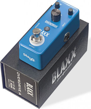 Picture of Pedale Effet Overdrive BLAXX Mini 2 Modes DRIVE-A
