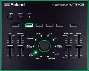 Image de Processeur vocal ROLAND VT-3 Voice Transformer