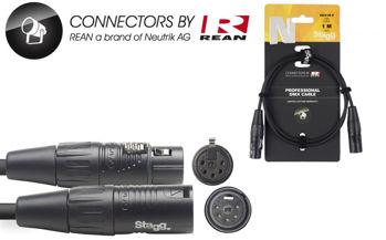 Image de Cable Lumière DMX 01M XLR/XLR 5 Broches 01M